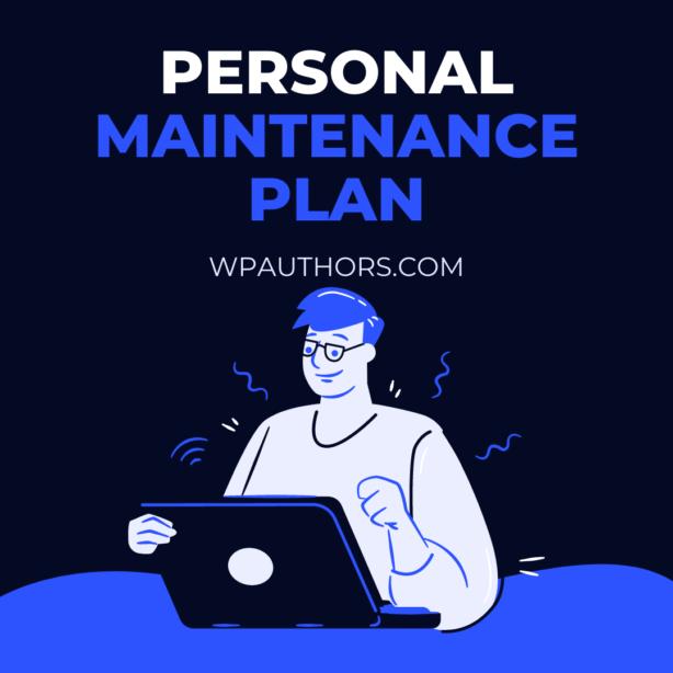 WordPress maintenance plan