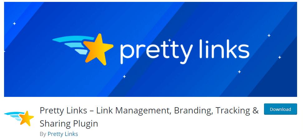 pretty links link shortener