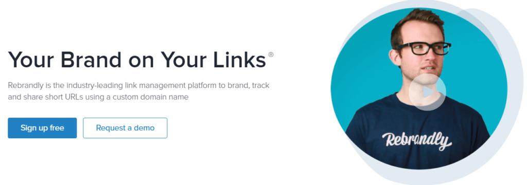 Rebrandly URL shortener